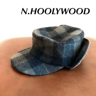 エヌハリウッド(N.HOOLYWOOD)のパイロットキャップ / n.hoolywood(キャップ)