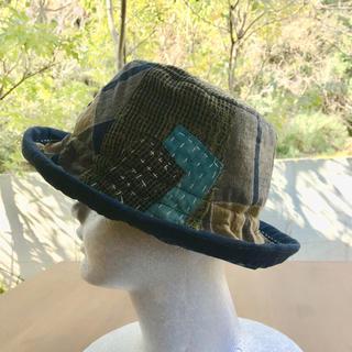 襤褸 藍染古布 帽子 ハット 専用商品です。(帽子)