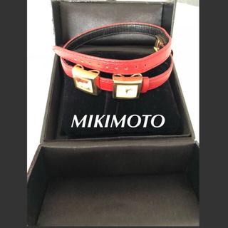 ミキモト(MIKIMOTO)のMIKIMOTO ミキモト 腕時計 二重ベルト レディース(腕時計)