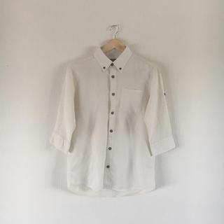 シマムラ(しまむら)のリネン混☆シャツ☆7分袖(シャツ)