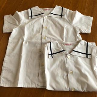 ユキトリイインターナショナル(YUKI TORII INTERNATIONAL)のユキトリイ 幼稚園 半袖ブラウス 2枚セット(ブラウス)