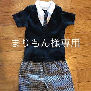 ニシマツヤ(西松屋)のまりもん様専用フォーマル セットアップ(ドレス/フォーマル)