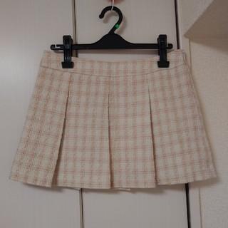 リズリサ(LIZ LISA)のLIZLISA リズリサ ツイードチェックプリーツスカート(ミニスカート)