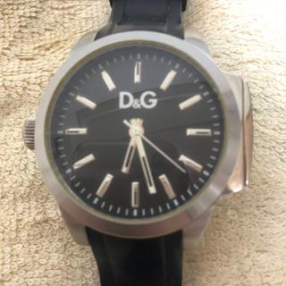ディーアンドジー(D&G)のD&G 腕時計(ラバーベルト)