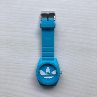 アディダス(adidas)のアディダスadidas ウオッチ ブルー 腕時計 メンズ レディース(腕時計)