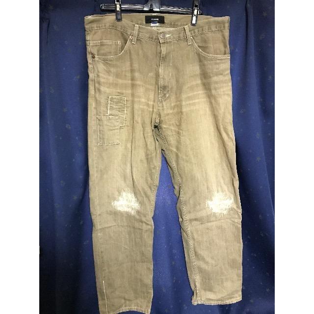 SCANNER(スキャナー)のSCANNER スキャナー ダメージデニム  メンズのパンツ(デニム/ジーンズ)の商品写真