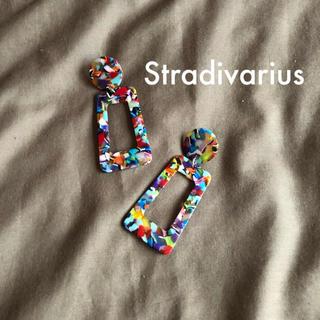 ザラ(ZARA)のStradivarius  ZARA姉妹店 マルチカラーピアス(ピアス)