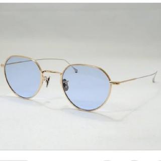 アヤメ(Ayame)のEYEVAN 7285 サングラス ゴールド 眼鏡 メガネ アイヴァン(サングラス/メガネ)