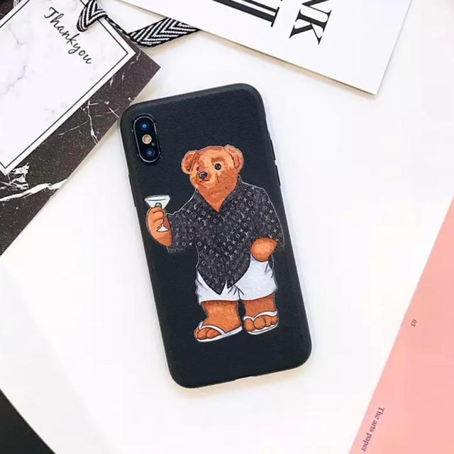 givenchy iphone8plus ケース 新作 | 大人気★ iPhoneケース ポロベア 熊 ブランド 可愛いの通販 by リツshop 海外|ラクマ