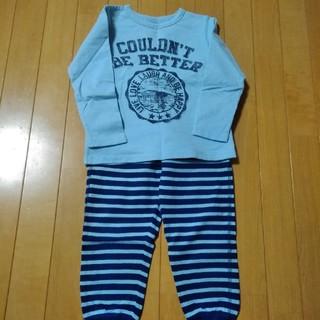 ジーユー(GU)のみかんまま様 GU男の子パジャマ110未使用(パジャマ)