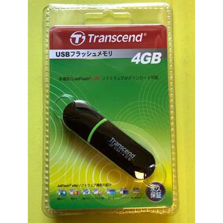 トランセンド(Transcend)の新品 未開封 トランセンド フラッシュメモリ JetFlash V30 4GB (PC周辺機器)