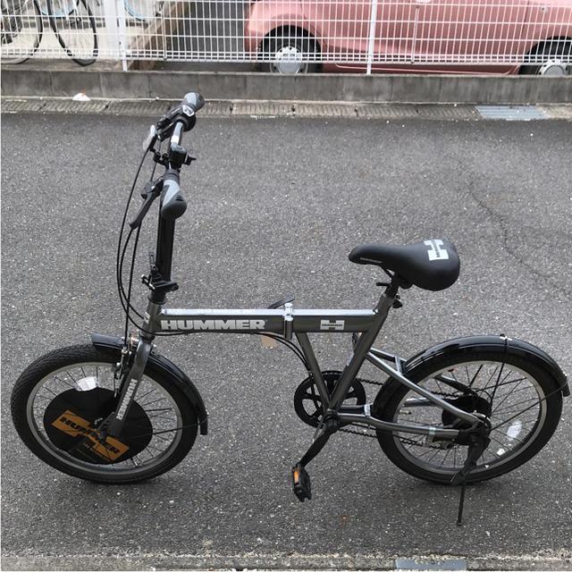 HUMMER(ハマー)のgomasan専用☆HUMMER☆折りたたみ自転車 スポーツ/アウトドアの自転車(自転車本体)の商品写真