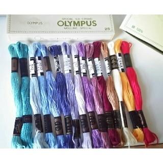 オリンパス(OLYMPUS)の※専用  刺繍糸2セット おまとめ Cosmo OLYMPUS  (生地/糸)
