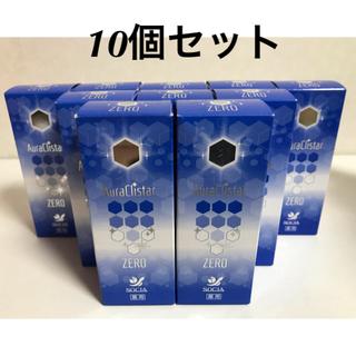 薬用オーラクリスターゼロ 10個セット、新品、送料無料(口臭防止/エチケット用品)