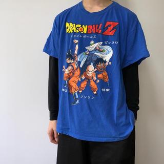 サントニブンノイチ(サントニブンノイチ)の【送料無料】ドラゴンボール キャラクター Tシャツ 大きめサイズ(Tシャツ/カットソー(半袖/袖なし))
