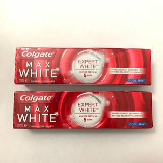 コルゲート【Colgate】エキスパート ホワイト 75g ×2本セット(歯磨き粉)