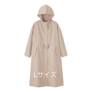 ジーユー(GU)のgu☆完売☆新品☆L☆ドローストリングフーデッドコート(スプリングコート)