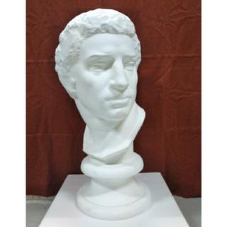 石膏像 ブルータス首像(彫刻/オブジェ)
