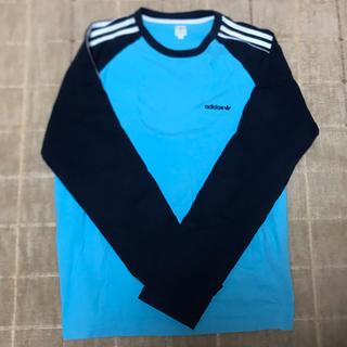 アディダス(adidas)のアディダスロンT サイズO 美品(Tシャツ(長袖/七分))