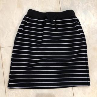 ジーユー(GU)のGU キッズ ボーダースカート(スカート)