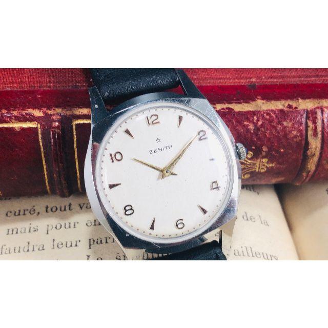 ゼニス 高級ブランド ヴィンテージ 腕時計  cal.2320の通販 by パパ君's shop|ラクマ
