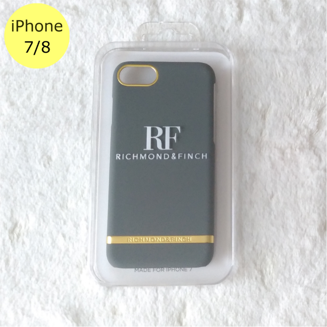 givenchy iphone8plus ケース 中古 | Richmond & Finch サテン グレー iPhone7/8ケースの通販 by Pochi公's shop|ラクマ