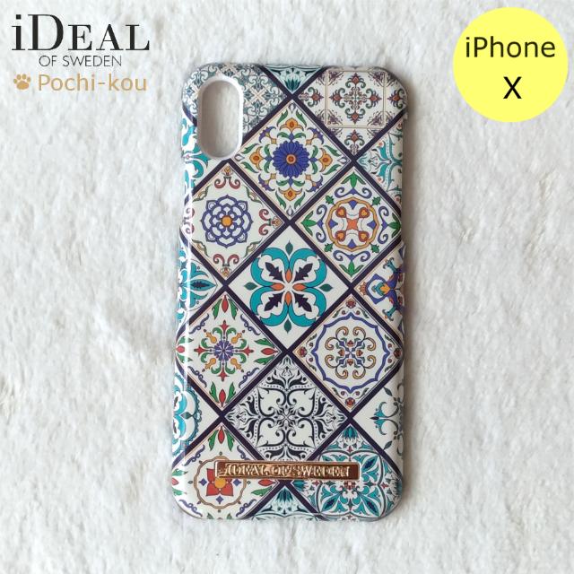 iDEAL OF SWEDEN モザイク iPhoneXケースの通販 by Pochi公's shop|ラクマ