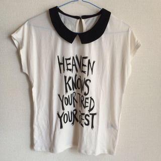 ジーユー(GU)の襟付きTシャツ(カットソー(半袖/袖なし))