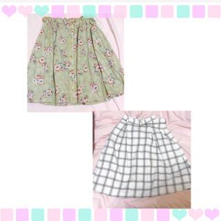 リズリサ(LIZ LISA)のスカート2点❁¨̮(ひざ丈スカート)