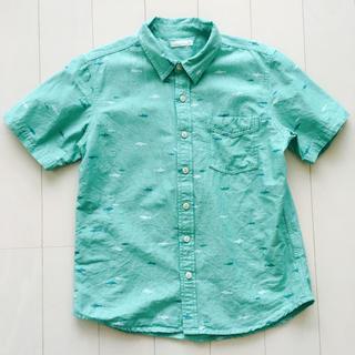 ジーユー(GU)のGU サメ柄 シャツ 150(Tシャツ/カットソー)