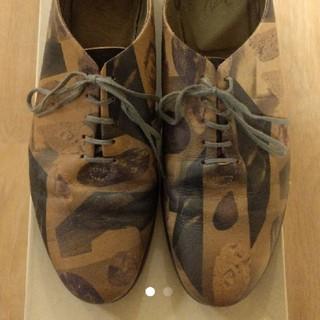 オータ(ohta)のohta 紫石靴 レザー 26cm(その他)