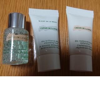 ドゥラメール(DE LA MER)のDE LA MER洗顔料3点セット(サンプル/トライアルキット)