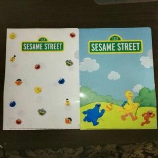 セサミストリート(SESAME STREET)のセサミストリート クリアファイル 2種セット / CKSP 雑貨(クリアファイル)