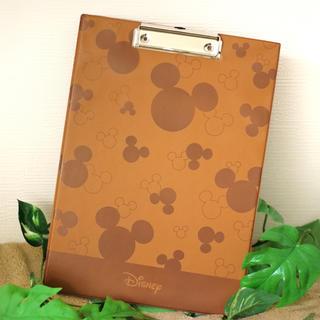 ディズニー(Disney)の【新品】ミッキー クリップボード【ディズニー】(ファイル/バインダー)