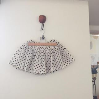 GU - GU 水玉の可愛いスカート 120