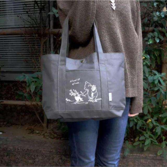 HOUSE OF ROSE(ハウスオブローゼ)の【新品】プーさん 優しげ トートバッグ レディースのバッグ(トートバッグ)の商品写真