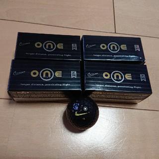 ナイキ(NIKE)の希少 タイガーウッズ ナイキ ONE ブラック ゴルフボール 8個(その他)