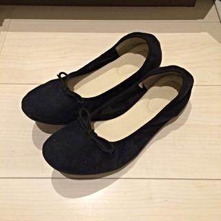 無印 試し履きのみ 折りたたみ 靴 スリッパ L
