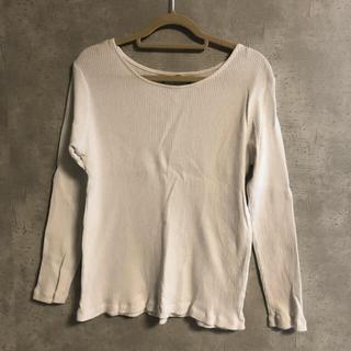 カスタネ(Kastane)の白、グレーカットソーセット(Tシャツ/カットソー(七分/長袖))