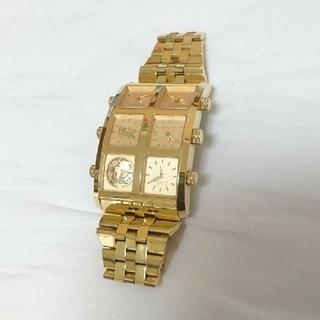 アヴァランチ(AVALANCHE)のICE LINK 時計 ゴールド(腕時計(アナログ))