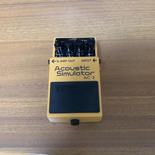 ボス(BOSS)のBOSS AC-3 Acoustic Simulator(エフェクター)