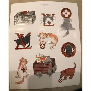 ルイヴィトン(LOUIS VUITTON)のルイヴィトン シール 猫(シール)