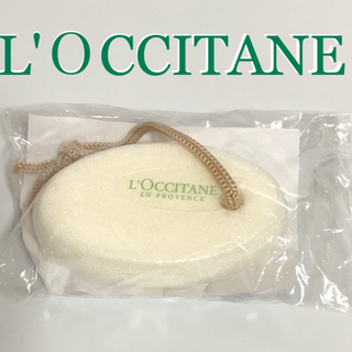 ロクシタン(L'OCCITANE)のロクシタン軽石 アマンダシェイプ フットパミス(バスグッズ)