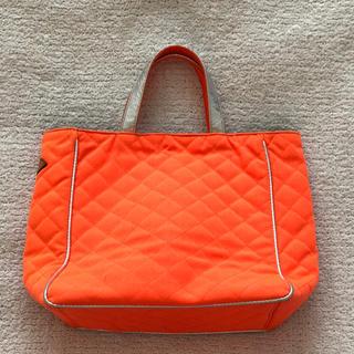 エムジーウォレス(MZ WALLACE)のMZ WALLACE♡鮮やかオレンジバッグ美品(トートバッグ)