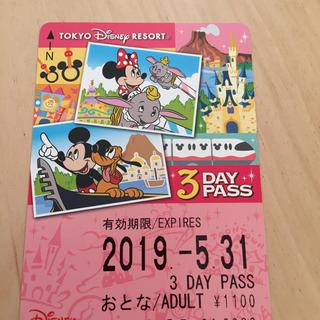 ディズニー(Disney)のリゾートライン フリーきっぷ(鉄道乗車券)
