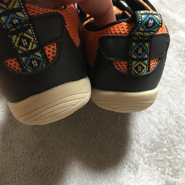 ampersand(アンパサンド)のキッズ スニーカー キッズ/ベビー/マタニティのキッズ靴/シューズ (15cm~)(スニーカー)の商品写真
