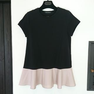 バーニーズニューヨーク(BARNEYS NEW YORK)の新品、未使用 バーニーズニューヨーク×YOKOCHANペプラム半袖Tシャツ(Tシャツ(半袖/袖なし))