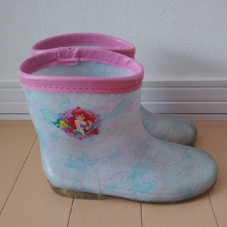 ディズニー(Disney)のアリエル 19㎝長靴 レインブーツ ディズニープリンセス リトルマーメイド(長靴/レインシューズ)