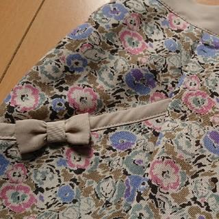 ドゥファミリー(DO!FAMILY)のドゥファミリイ花柄スカート(ひざ丈スカート)