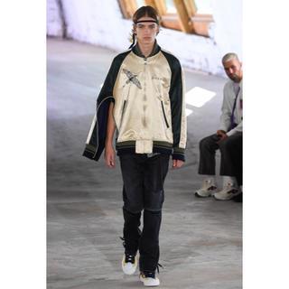 サカイ(sacai)のsacai 19ss Dr.woo コラボ Souvenir jacket(スカジャン)